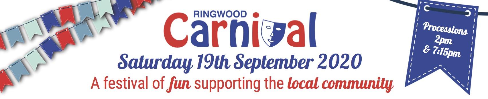 Ringwood Carnival 2020 date